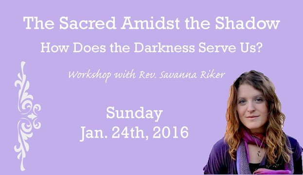 Sun Jan 24th - Savanna Riker Workshop