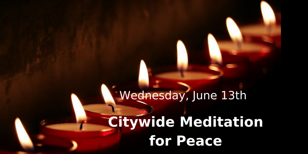 Citywide Meditation for Peace