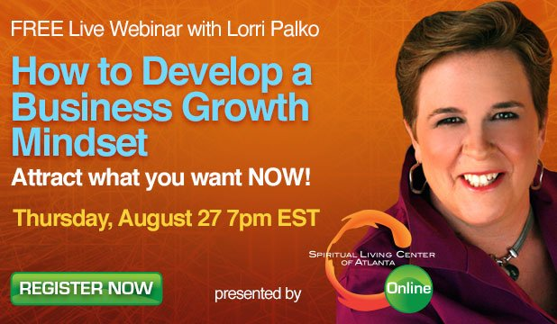 Webinar: How to Develop a Business Growth Mindset - Aug 27th