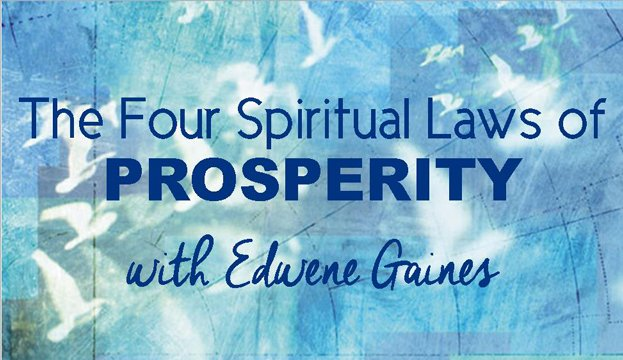 Prosperity Workshop with Edwene Gaines - Wednesday May 11th