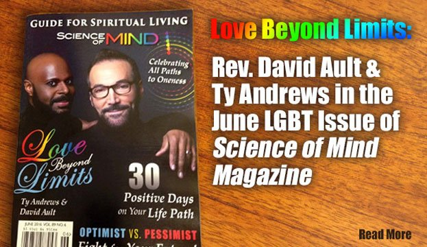 David Ault & Ty Andrews in the latest issue of Science of Mind